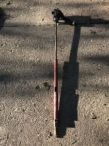 1963 Pontiac Tempest Lemans Steering Column W Steering Box And Red Interior Col