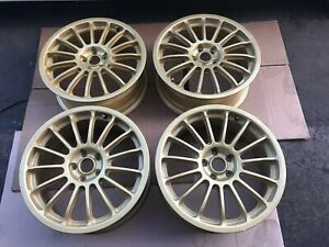 17 Oz Racing 17x7 48 5x100 Rims Subaru Impreza Gc8 Gf8