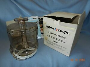 Robot Coupe Go 200 Grand Opening Whole Bowl Feeder System rc 2000 Food Processor