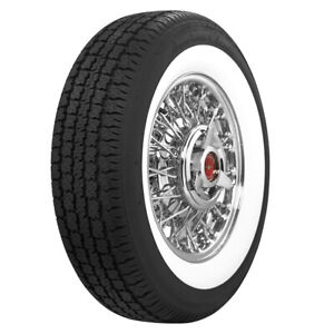 American Classic Whitewall Radial P205 75r14 95s 2 3 8 Ww quantity Of 1