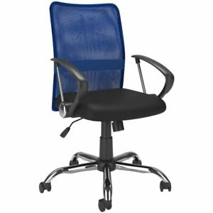 Atlin Designs Mesh Back Office Chair In Blue