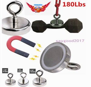 91 180 Lbs Magnet Strong Hot Neodymium Thick Eyebolt Treasure Hunt Pull Force