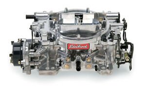 Edelbrock 1806 Thunder Series Avs Carburetor 4 Bbl 650 Cfm Electric Choke
