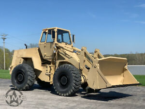 1985 Case M W24c Ex Military Wheel Loader Nice Shape 42 Hours 4 In 1 Bucket