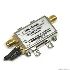 Dc 2 4ghz Digital Attenuator Mini Circuits Zx76 31 sp s