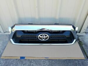 2012 2013 2014 2015 Toyota Tacoma Oem Front Radiator Grille Grill