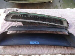 1964 Chevrolet Impala Speedometer Cluster Clock And Dash Bezel Nice