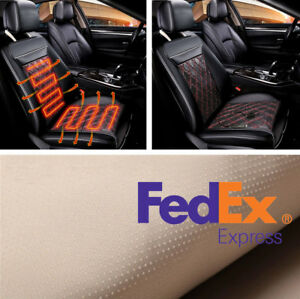 Us Shipping 1pc Suv Car Seat Heated Cushion Heater Pad 3 Modes Control Winter