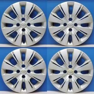 2012 2015 Toyota Yaris Hatchback 61164 15 Hubcaps Wheel Covers 4260252520 Set 4