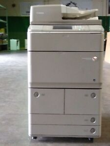 Canon Imagerunner Advance 6265 W fax External Finisher And Paper Deck