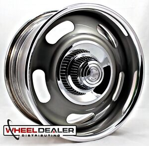18x8 American Racing Rally Wheel Vn327 Gray For Corvette C3 Nova Malibu S10