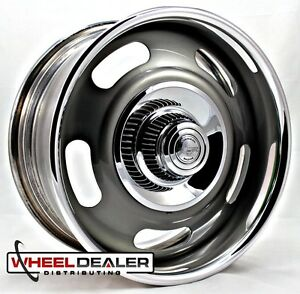 20x12 American Racing Rally Wheel Vn327 Gray Gm Truck C10 Swb Lwb 5 6 Lug