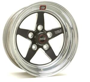 Weld Racing Rts Forged Aluminum Black Anodized Wheel 15 X3 95 5x4 75 Bc Pair