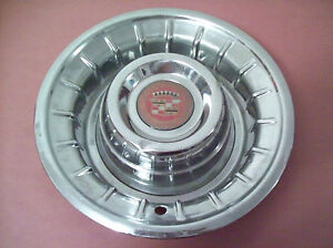 Vintage 1956 Cadillac Hub Cap Rat Rod Hot Rod