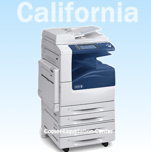 Xerox Wc7225 Mfp Color Copier Fax Print Scanner 25ppm go