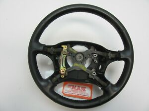 Steering Wheel Steering Column Leather Black Car Fits Celica St Gt 94 95 96 97