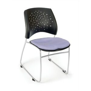 Stars Series Stack Chair Blue