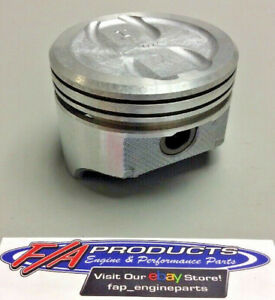 Fits Small Block Chevy 350 V8 Engines Dished Piston Set Of 8 Silvolite 1470 060