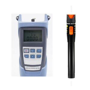 Fiber Optical Power Meter 10km 10mw Visual Fault Locator Cable Tester