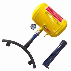 New Feature 10 Gallon Air Bead Seater Tire Tool Blaster Wheel Tool Yellow 145ps