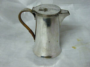 Vintage Silver Plated Coffee Pot Water Jug 5 1intall367gms