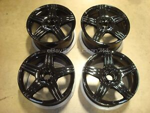 19 Oem Mercedes Benz Cls 63 550 Amg Wheels Rims Factory W218 Cls63 Class Black