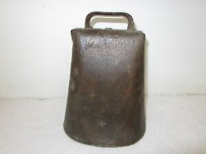 Antique Primitive Cow Bell Hand Forged Barn Find