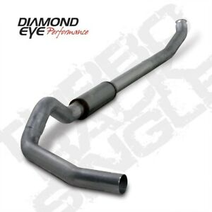 Diamond Eye K5238s 5 Turbo back Exhaust System For 04 07 Dodge Ram Cummins 5 9l