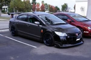 06 11 Honda Civic 4dr Oe Seibon Carbon Fiber Body Kit Hood Hd0607hdcv4dj Oe