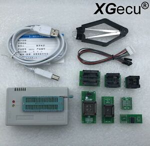 Xgecu Programmer Tl866ii Plus For Flash Nand Eprom Mcu Pic 7adapter Ship From Us