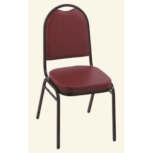 18 Upholstered Stack Chair From