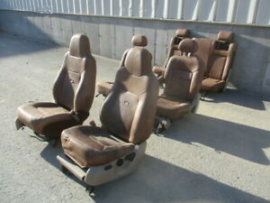 2005 Ford Expedition King Ranch Cowhide Seats 3 Rows Front Middle Rear Oem Lkq