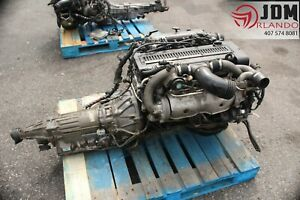 89 93 Toyota Jzx90 2 5l Inline 6 Turbo Engine Transmission Loom Ecu Jdm 1jz gte