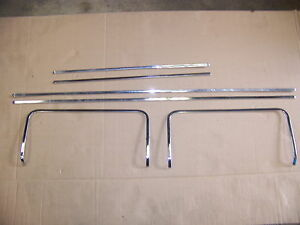 1968 Chrysler 300 2d Door Panel Trim Oem