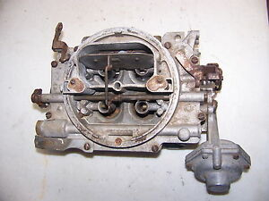 Carter Afb Carburetor 2640sa 1958 Ford 352 Fairlane Thunderbird