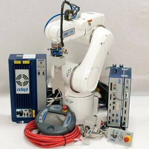 Adept Viper S650 Cr Cleanroom Robot Arm With Smartcontroller Cx Pendant Cables