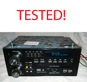 89 95 Cadillac Buick Gm Oem Delco Stereo Tape Cassette W 5 way Eq Tested