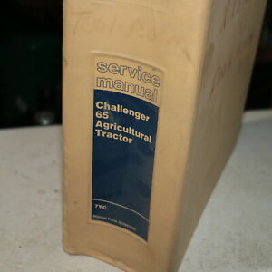 Caterpillar Challenger 65 Crawler Tractor Service Manual Repair Shop Operation