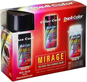 Paint Mirage Base Mid Top Coat Lacquer Flat Gloss Black Red Blue Clear 8 Oz Cans