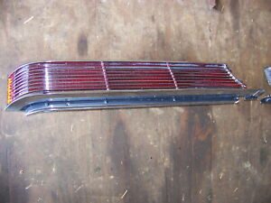 1968 Chrysler Imperial Taillights Oem Pair Lebaron Crown
