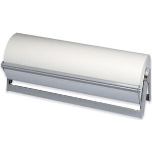 Office Packaging Supplies White 100 Recycled Paper Newsprint Rolls 1 Roll