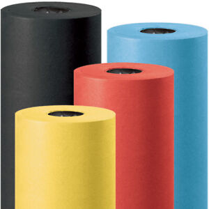 Office Packaging Tears Punctures Resistant Colored Kraft Paper Roll Usa 1 Roll