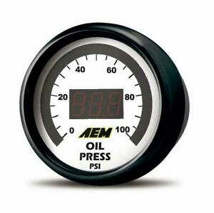 Aem 30 4407 52mm Digital 0 150psi Oil Pressure Gauge Full Warranty