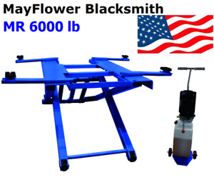 Mayflower Blacksmith Portable Mid Rise Scissor Car Truck Lift 6000 Lb Mr 6000