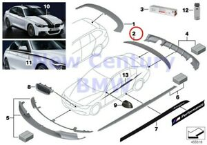 Bmw Genuine M Performance Accessories Carbon Rear Spoiler M Performance F30 F30n