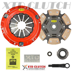 Xtd Stage 3 Ceramic Racing Clutch Kit 93 02 Mirage 1 8l
