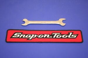 Snap On Double End Open End Speed Wrench 9 16 X 5 8 Rs1820a Underline Usa