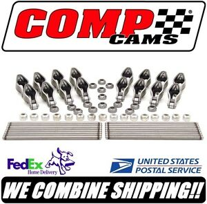Comp Cams 1 52 Magnum Rocker Arm Pushrod Kit For Hyd Roller Sbc Chevy Rpr200