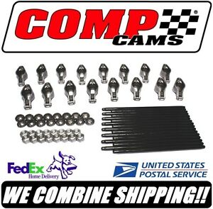 Comp Cams Bbc Chevy 1 72 Magnum Roller Rocker Arm Pushrod Kit Rpm1411 16