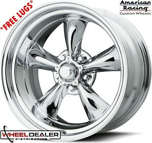 20x8 20x10 Chrome American Racing Torque Thrust Wheels C10 Cheyenne Swb Lwb